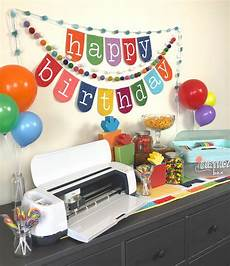 Birthday Banner Maker Sew A Birthday Banner With The Cricut Maker Ameroonie