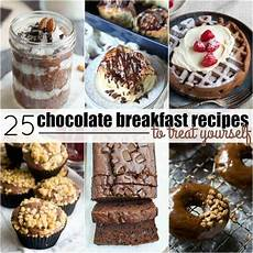 25 chocolate breakfast recipes to treat yourself real