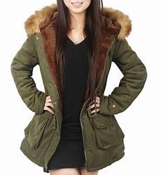 winter for coats 4how womens parka jacket hooded winter coats faux fur coat