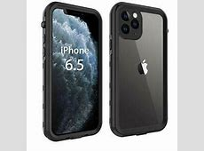 iPhone 11 Pro Max Case, Waterproof Full Body Rugged Clear