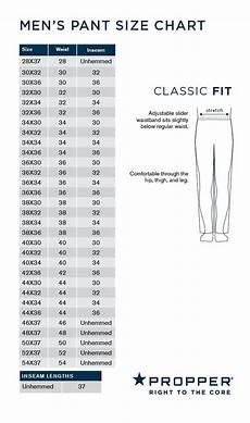 Camo Pants Size Chart Propper 174 Men S Revtac Pant