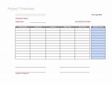 Timesheet Layout 6 Free Timesheet Templates You Really Need