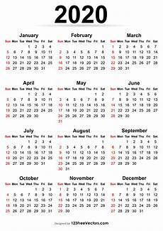 free online printable calendars 2020 210 2020 calendar vectors download free vector art
