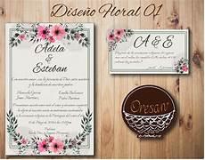 invitaciones de boda 35 invitaciones boda 100pases 345 00 en mercado libre