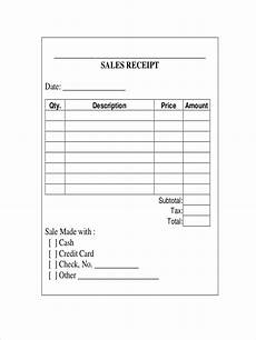 sale receipt template free 12 sales receipt exles sles in docs