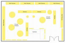Retail Store Layout Design Store Layout Software Draw Store Layouts Floor Plans