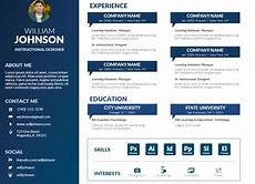 Visual Cv Template Free Powerpoint Visual Resume Template Mike Taylor