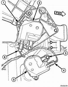 Change Mode Control Activator 1996 Dodge Grand Caravan