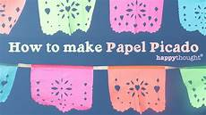 How To Make Templates How To Make Papel Picado For Day Of The Dead Dia De Los