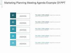 Marketing Meeting Agenda Marketing Planning Meeting Agenda Example Of Ppt