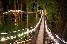 Capilano Suspension Bridge Canyon Lights Tickets Canyon Lights At Capilano Suspension Bridge Family Fun