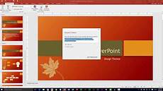 How To Change Powerpoint Template Sharing Microsoft Powerpoint Presentations Youtube