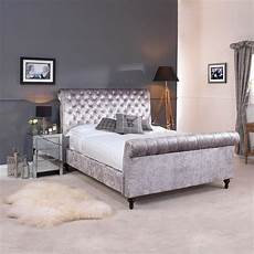 go1142g 4 grey premium crushed velvet upholstered
