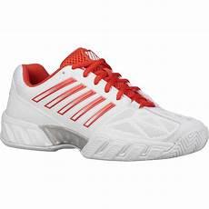 Light Tennis Shoes K Swiss Womens Bigshot Light 3 Tennis Shoes White Fiesta