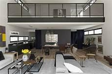 interior modern homes modern industrial interior design in beautiful open