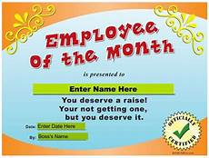 Employee Of The Month Award Quot Employee Of The Month Quot Award Koodo Community Forum