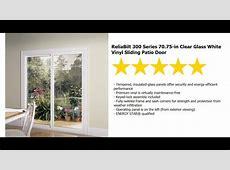 Patio Door Installation   ReliaBilt Series 300 Sliding 6