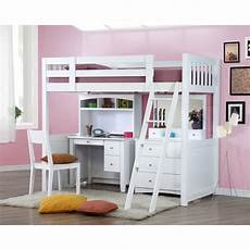 my design bunk bed k single w desk w hutch dressing table