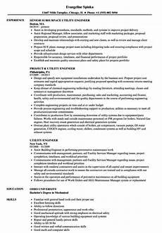 Utility Resume Utility Engineer Resume Samples Velvet Jobs