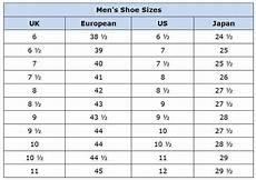 Conversion Chart Men S Shoes Men S Shoes Sizes