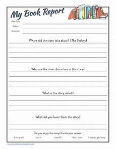 Book Report Guided Reading Book Report Printable Pack