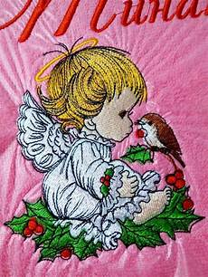 Christmas Angel Designs Christmas Angel 3 Embroidery Design