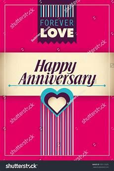 Happy Anniversary Design Happy Anniversary Card Design Vector Illustration