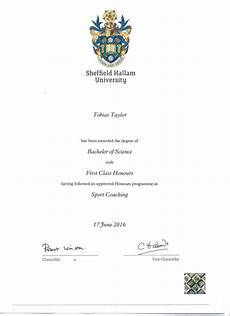 First Class Honors Bsc First Class Honours Degree Sport Coaching Page 1