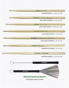 Promark Drumstick Size Chart Review New Bopworks Drum Stick Models Not So Modern