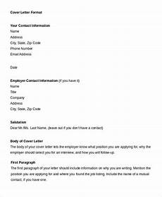 Professional Cover Letter Format Professional Letter Format 22 Free Word Pdf Documents