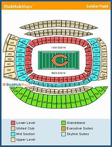Soldier Field Seating Chart Soldier Field Seating Chart Pictures Directions And