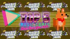 Free Game Show Music Top 5 Free Music Games Music Game Jam 2018 Youtube