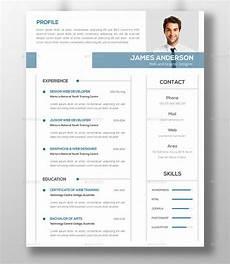 Modern Picture Resume 50 Modern Resume Templates Pdf Doc Psd Free