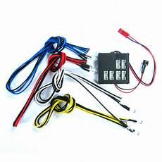 Turnigy Light Kit Dark Drifter 6 Slots Led Light Kit Lk 0002