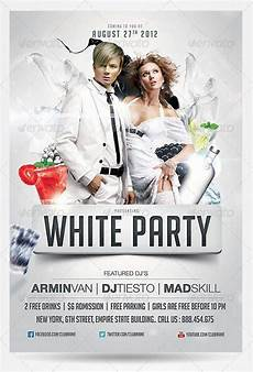 Free All White Party Flyer Template Top 10 Best White Psd Flyer Templates