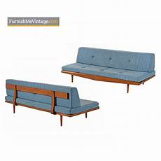 pearsall style daybed sofa mid century modern