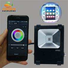 Flood Light App Iproled Wifi App Control 10w Rgb Led Floodlight Outdoor