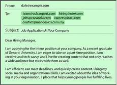 How To Send Your Resume By Email Common Job Application Mistakes In Emails Amp Resumes By Job