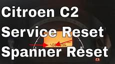 Citroen Ds3 Service Warning Light Citroen C2 Service Light Reset Spanner Warning Light