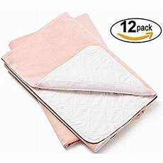 platinum care pads washable pink large reusable bed pads