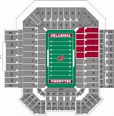 Ou Football Seating Chart Gaylord Family Oklahoma Memorial Stadium The Official