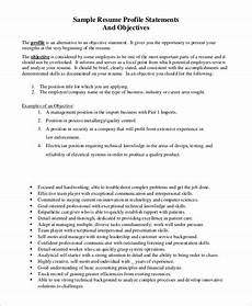 Objective In Resume Examples Free 7 Sample Resume Objective Examples In Pdf