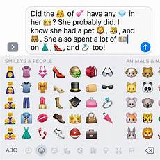 Emoji Texts How Do I Automatically Add Emojis In Iphone Messages It S