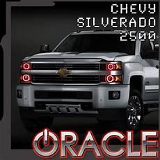 Light 2017 Silverado 2015 2018 Chevy Silverado 2500 Oracle Halo Kit Advanced