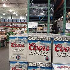 60 Cans Coors Light Halifax Retales Meanwhile At Costco In Quebec 59 70 For