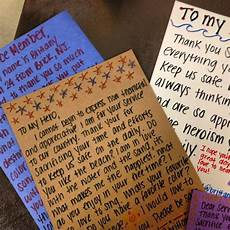 How To Write A Letter To A Soldier Random Acts Of Kindness Week Blog 3 Letters To The