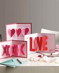 Designs For Valentines Card 3 D S Day Cards Martha Stewart