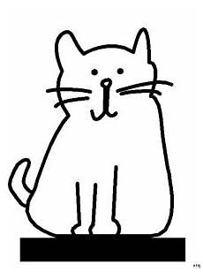 Malvorlage Sitzende Katze Sitzende Skizzierte Katze Ausmalbild Malvorlage Comics