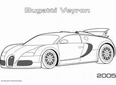2005 bugatti veyron coloring page free printable