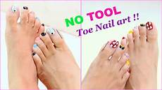 Easy Step By Step Toenail Designs 2 Easy And Quick Toe Nail Art Designs Tutorial Youtube